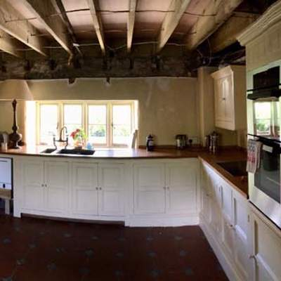 Joinery Portfolio: 17th Century Farmhouse in Devon - Before Refurbishment