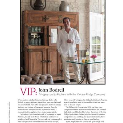 In the Press - Homes & Antiques magazine