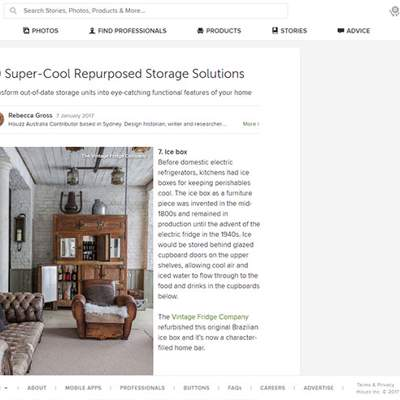"In the Press - Houzz (<a href=""https://www.houzz.co.uk/ideabooks/72083762/list/10-super-cool-repurposed-storage-solutions"" class=""text-primary"" target=""_blank"">VIEW</a>)"
