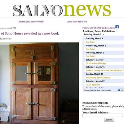 "In the Press - Salvo News article (<a href=""http://www.salvonews.com/story/secrets-of-soho-house-revealed-in-a-new-book-x80988x9.html"" class=""text-primary"" target=""_blank"">VIEW</a>)"