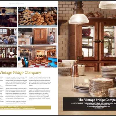 In the Press - The World of Hospitality magazine